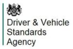 DVSA logo and link
